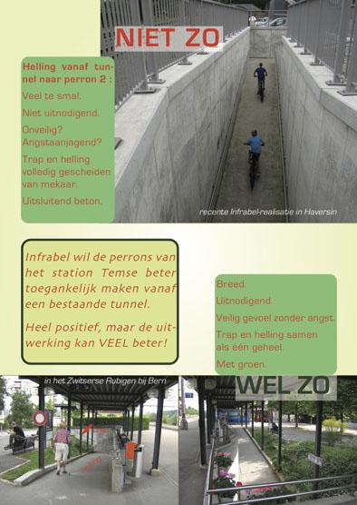 Toegang Station Temse Stand Van Zaken En Flyer Abllo Vzw